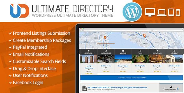 Ultimate Directory Responsive WordPress Theme by CrunchPress ...