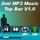 XML MP3 MUSIC TOP BAR V1