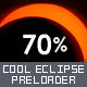 Cool Eclipse Preloader