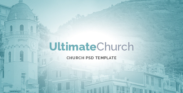 Ultimate Church PSD Template by MunFactory | ThemeForest