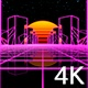Retrowave Sun 4K - VideoHive Item for Sale