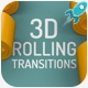 3D Rolling Transitions - VideoHive Item for Sale