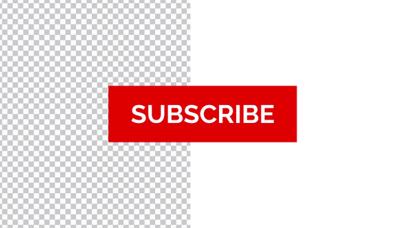 YouTube Subscribe Button with Bell Icon (4k Transparent)