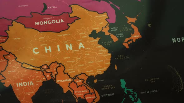 Asia on world map by footagestock videohive play preview video gumiabroncs Images