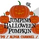 4k Jumping Halloween Pumpkin - VideoHive Item for Sale