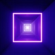 Neon Light Container Box Tunnel - VideoHive Item for Sale