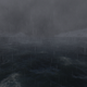Rain Dark Waves In The Ocean And Mountains - VideoHive Item for Sale