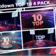 Countdown Top 10 4 Pack - VideoHive Item for Sale