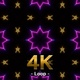 Concert Neon VJ Light Kaleidoscope 06 - VideoHive Item for Sale