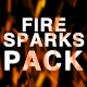 Realistic Fire Sparks - VideoHive Item for Sale