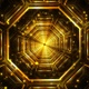 Gold Tunnel Loop - VideoHive Item for Sale