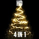 Gold Christmas Tree - VideoHive Item for Sale