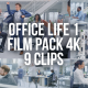 Collection of Office Life During Working Day - Pack of 9 Clips - VideoHive Item for Sale