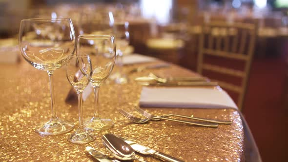 Decorated Table For Wedding Dinner By Macromedia Videohive