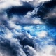 Night Sky with Clouds - VideoHive Item for Sale