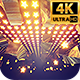 Gold Stars Fly 4k - VideoHive Item for Sale