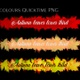 Autumn leaves lower third - VideoHive Item for Sale