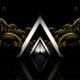 Triangular Gates Vj Loop (Golden Version) - VideoHive Item for Sale