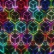 VJ  Colorful Cubes Pattern - VideoHive Item for Sale