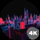 4K Structure Neon Cityscape - VideoHive Item for Sale
