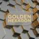 Golden Hexagon - VideoHive Item for Sale