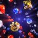 4 K Diamond Fall - VideoHive Item for Sale