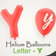 Balloons With Letter – Y - VideoHive Item for Sale