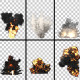 Explosions Pack - Alpha Channel - VideoHive Item for Sale