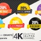 20 Percent Sales Discount Banner - VideoHive Item for Sale