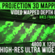 Wall Projection Mapping - 3D illusion Starter Kit (Arc Style) - VideoHive Item for Sale
