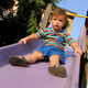 Baby Toddler on the Park Slide 01 - VideoHive Item for Sale