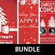 Typographic Christmas Flyer Bundle Vol 1. - GraphicRiver Item for Sale