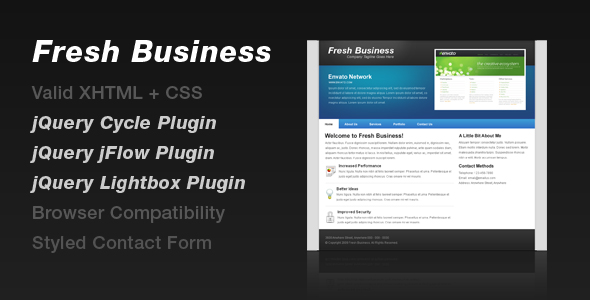 Free Download Fresh Business Nulled Latest Version