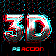 3D Effect Photoshop action - GraphicRiver Item for Sale