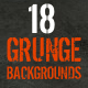 18 Modern Grunge Backgrounds - GraphicRiver Item for Sale