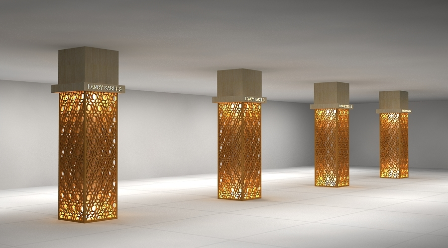3D Column Concept Design 124 by studioamar | 3DOcean