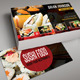 Sushi Food Business Card 02 - GraphicRiver Item for Sale