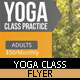 Yoga Class Flyer - GraphicRiver Item for Sale