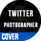 Twitter Photographer Cover - GraphicRiver Item for Sale