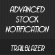 Advanced stock notification
