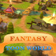 Fantasy Toon World for RPG - MMO - 3DOcean Item for Sale