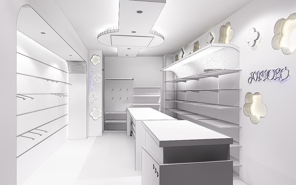 Textile Shope Interior 1