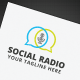 Social Radio Logo - GraphicRiver Item for Sale