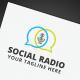 Social Radio Logo - GraphicRiver Item for Sale