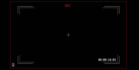 Videocamera Rec Screen 3 By Tuomatu Videohive