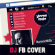 Dj and Musician Timeline Facebook Cover Template - GraphicRiver Item for Sale