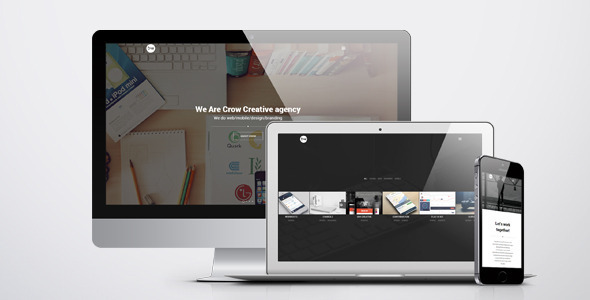 Crow – Creative Agency HTML Template