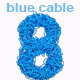 Blue Cable Number - GraphicRiver Item for Sale