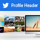 Twitter Profile Header V4 - GraphicRiver Item for Sale