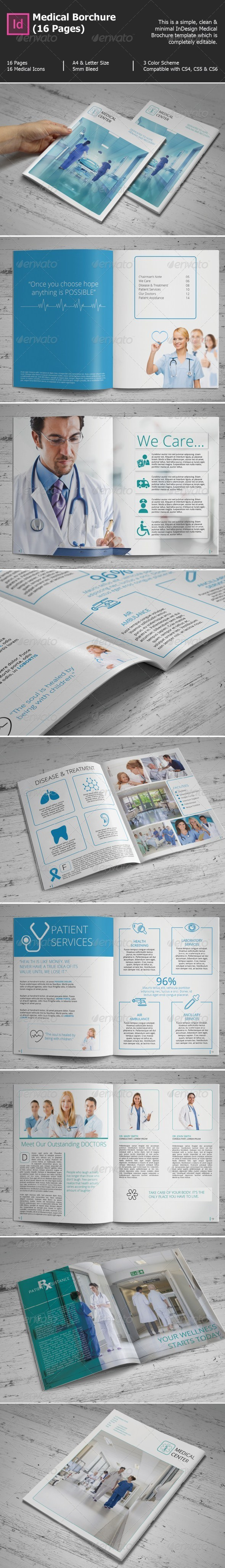 Medical Borchure (16 Pages) - Informational Brochures